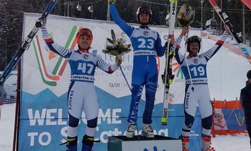 5 médailles pour les Bleus aux Deaflympics d'hiver