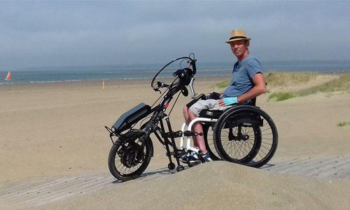 7 000 km en Australie : le défi d'un aventurier paraplégique