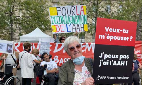 AAH : stop à la dépendance financière le 16 septembre!