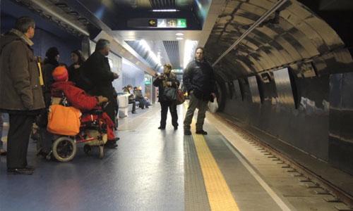 Accessibilité du métro historique ? Aux oubliettes!