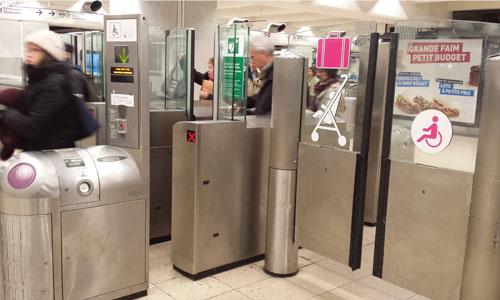 Accessibilité du métro parisien : un wagon de retard !