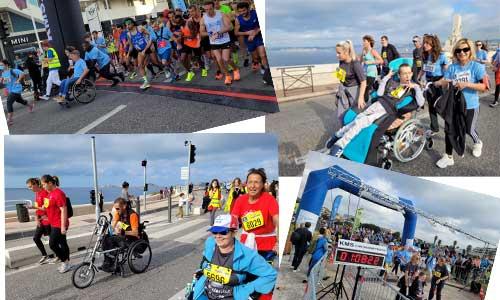 Algernon : 5 000 coureurs handi-valides réunis à Marseille