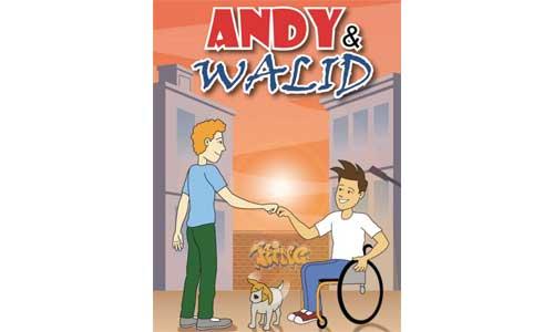 Andy & Walid : BD drôle et rafraîchissante sur le handicap