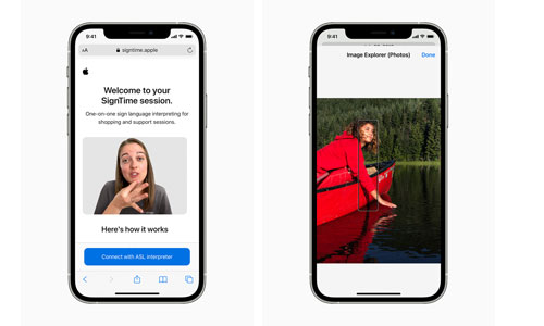 Apple promet une flopée de nouveautés handicap en 2021