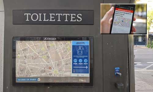 Trouver des toilettes accessibles PMR: des appli pressantes...
