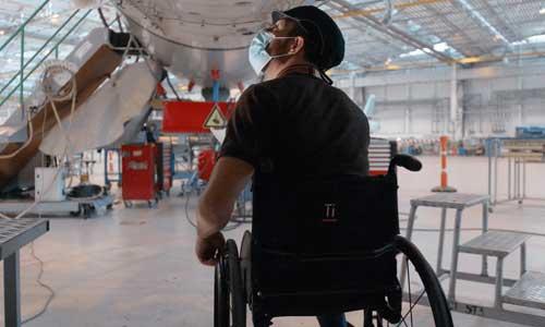 Apprentis handicapés, faites carrière dans l'aéronautique!