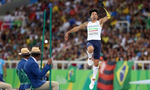 Arnaud Assoumani, para-athlète : dessine sa future prothèse!