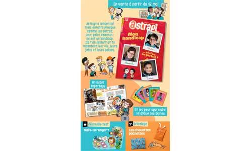 Astrapi : le magazine jeunesse fait sa une sur le handicap