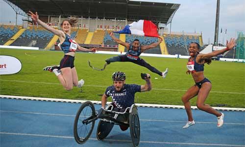 Athlétisme handisport : France, 5e des nations européennes!