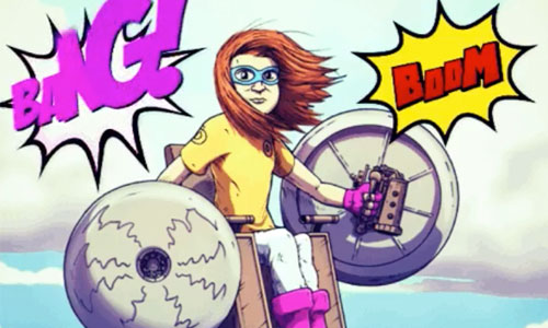 BD : 5 super-héros handicapés font un carton