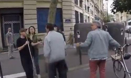 Chauffard en garde à vue après avoir agressé un aveugle