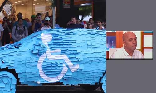Chronique Croizon : ils relookent les parkings handicap !