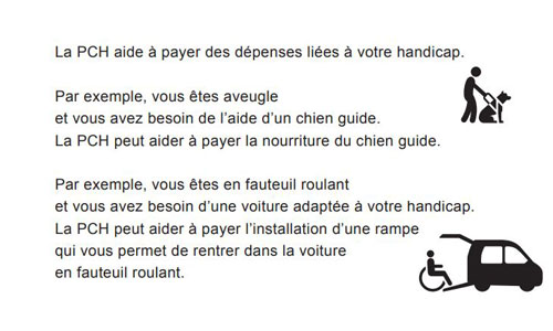 CMI, AAH, aides handicap : un kit d'infos en facile à lire