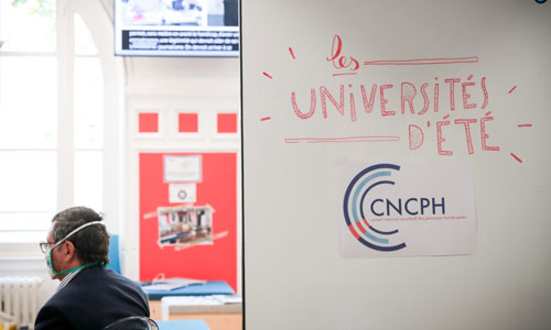 Cncph : le handicap fait ses Universités d'été en septembre