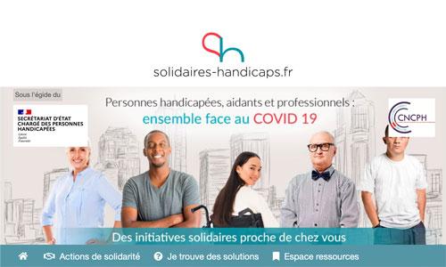 Covid-19: toutes les initiatives handicap sur une plateforme
