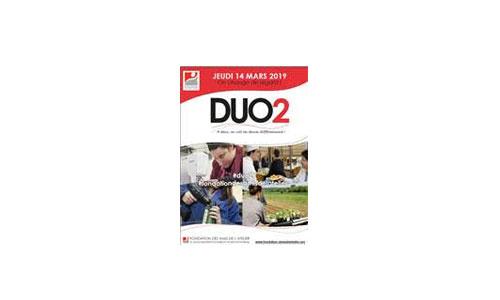 Duo2 : les valides découvrent le job des handi