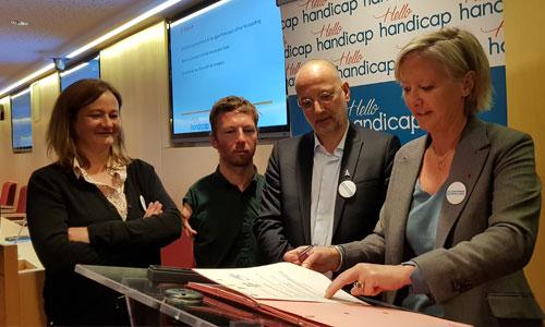 DuoDay et Hello-handicap deviennent partenaires !