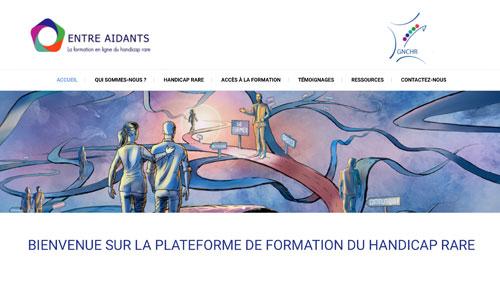 """""""Entre aidants"""" : plateforme de formation au handicap rare"""