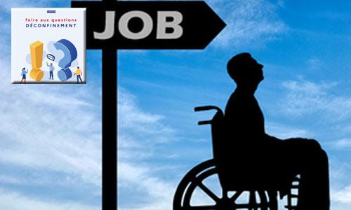 FAQ déconfinement: handicapé, je reprends le travail ou pas?