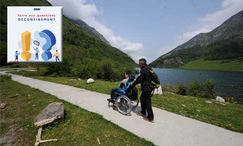 FAQ déconfinement : organiser ses vacances avec un handicap