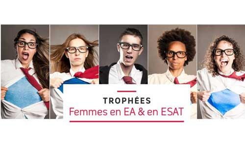 Femmes en EA et en ESAT, elles ont leurs trophées !
