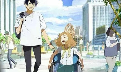 Film d'animation : l'éclosion d'une japonaise paraplégique