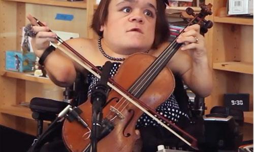 G. Lea : son violon, une arme de sensibilisation massive ?