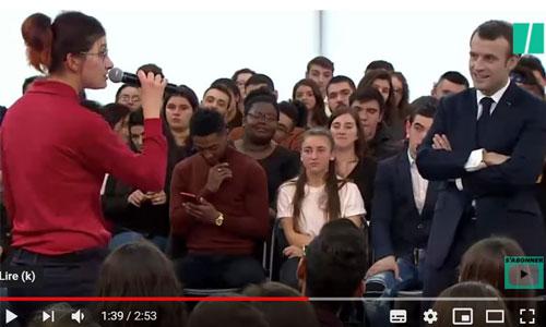 Grand débat : Estelle interpelle Macron sur l'autisme