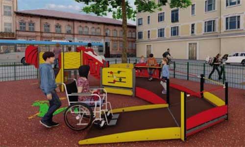 Grenoble déploie ses aires de jeu accessibles en ville