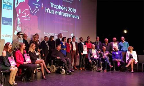 H'up 2020: entrepreneurs handicapés, postulez à vos trophées