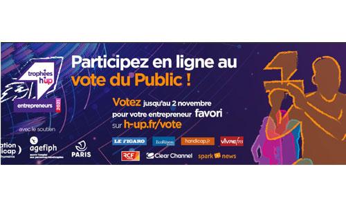 H'up 2021 : 10 handipreneurs, votez pour votre favori!