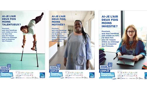 Handicap, 2 x plus au chômage: la campagne SEEPH frappe fort