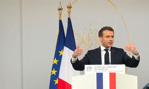 Handicap : les 12 travaux de Macron en faveur de l'inclusion