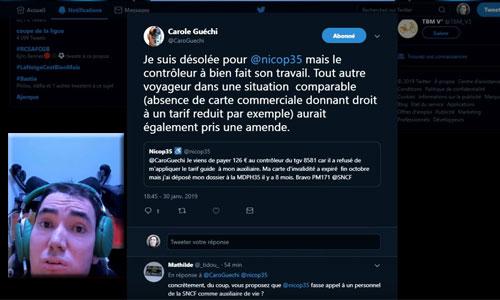 Handicap lourd : lorsqu'un contrôleur SNCF fait du zèle !