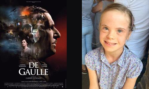 L'actrice avec trisomie du film De Gaulle privée d'école