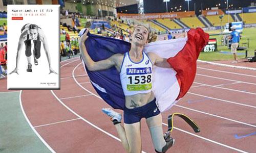 La championne Marie-Amélie Le Fur se dévoile dans un livre