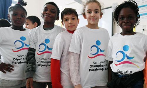 La Semaine olympique : l'école s'ouvre aux para !