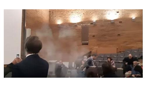 Le député Adrien Taquet enfariné : agression ou pas ?