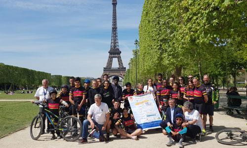 Le pari fou de 2 rescapés : en selle pour 1 000 km à vélo !