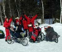 LES FAUTEUILS VOLANTS : Notre défi en traîneau à chiens dans le nord du Canada