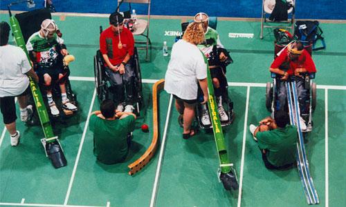 Lourdement handicapés : un contrôle anti-dopage compliqué