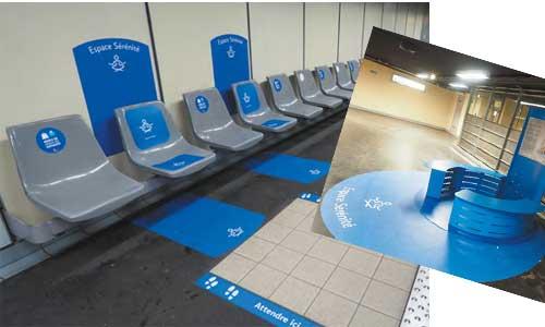 Lyon, des personnes autistes repensent une station de métro
