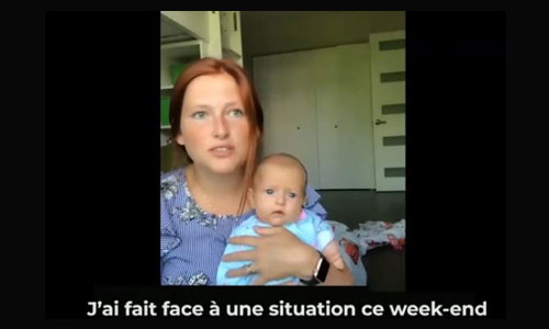 Maman d'un bébé handicapé, elle livre un message aux parents