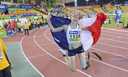 Marie-Amélie Le Fur, nouvelle présidente du paralympisme