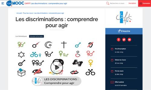 MOOC : formation en ligne pour combattre les discriminations
