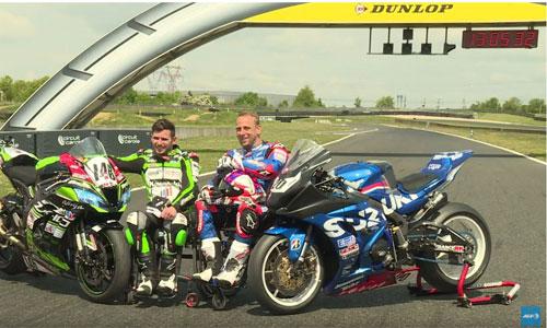 Moto : sensations fortes sur circuit pour handi riders
