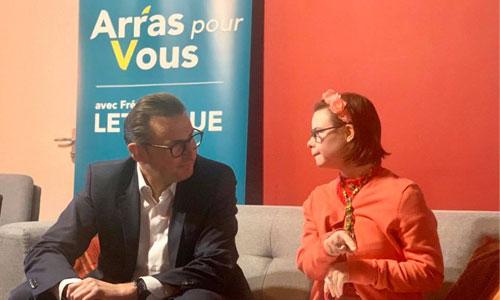 """Municipales : Eleonore Laloux, candidate """"triso et alors!"""""""