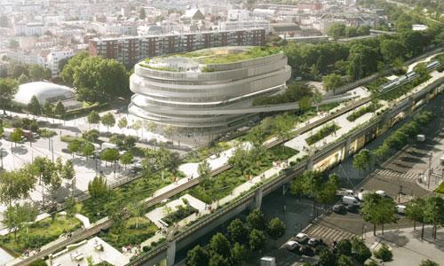 Paris : bientôt une cité du handicap végétalisée