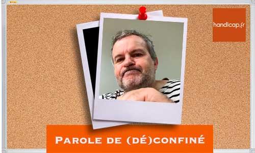 Parole de (dé)confiné : Laurent Savard fait tomber le masque