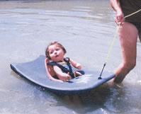 Planche de baignade